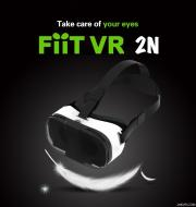 FIIT VR 2N Cardboard 3D VR Headset Virtual Reality Box