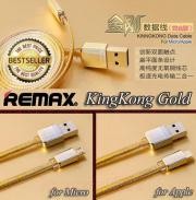 REMAX Gold Kingkong Kabel For Micro USB
