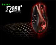 Razer Naga Hex – MOBA/Action-RPG Gaming Mouse (Wraith Red)