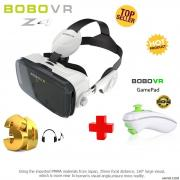 BOBOVR Z4 Virtual Reality 3D Glasses + Original Gamepad Controller