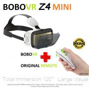 BOBOVR Z4 MINI + ORIGINAL REMOTE VR VIRTUAL REALITY GLASSES